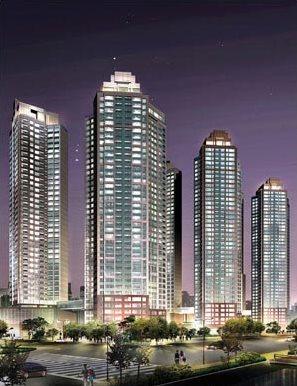 wieżowce Thrumpa w Korei