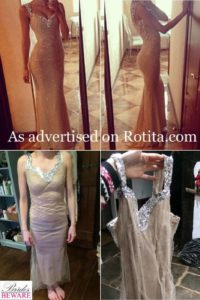 sukienki z internetu