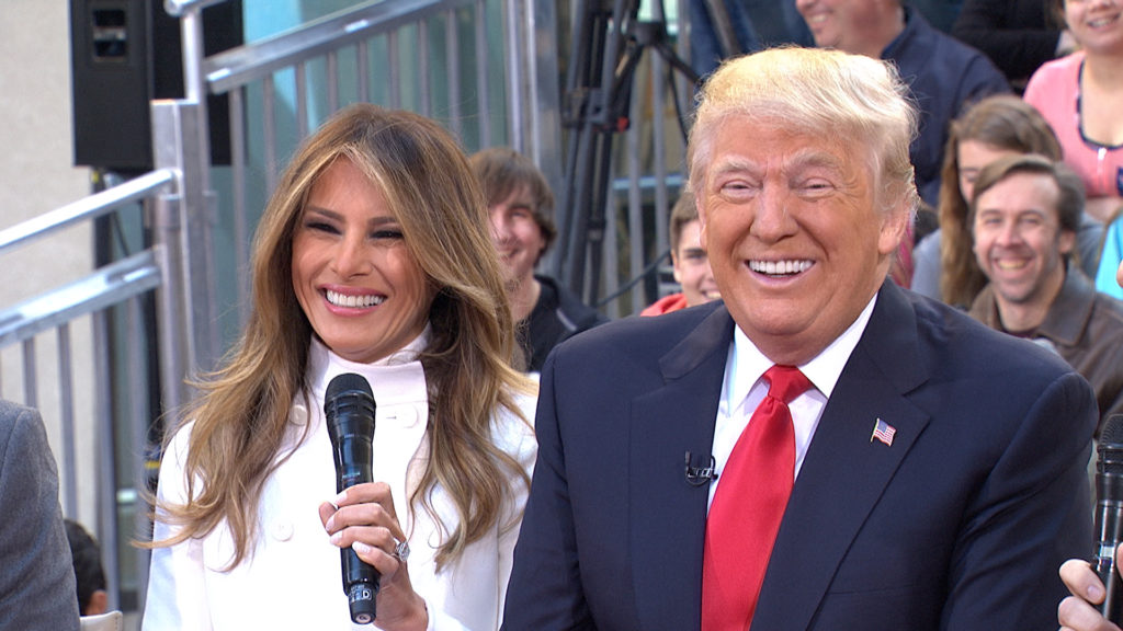 pierwsza dama USA i prezydent