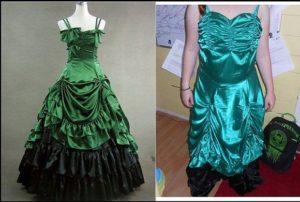 nietrafiona sukienka kupiona przez internet
