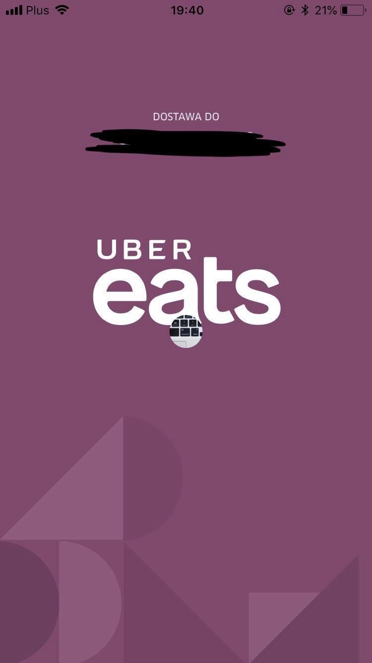 jak wygląda aplikacja Uber Eats